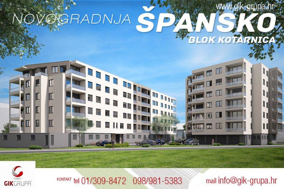 Novogradnja Špansko - Blok Kotarnica
