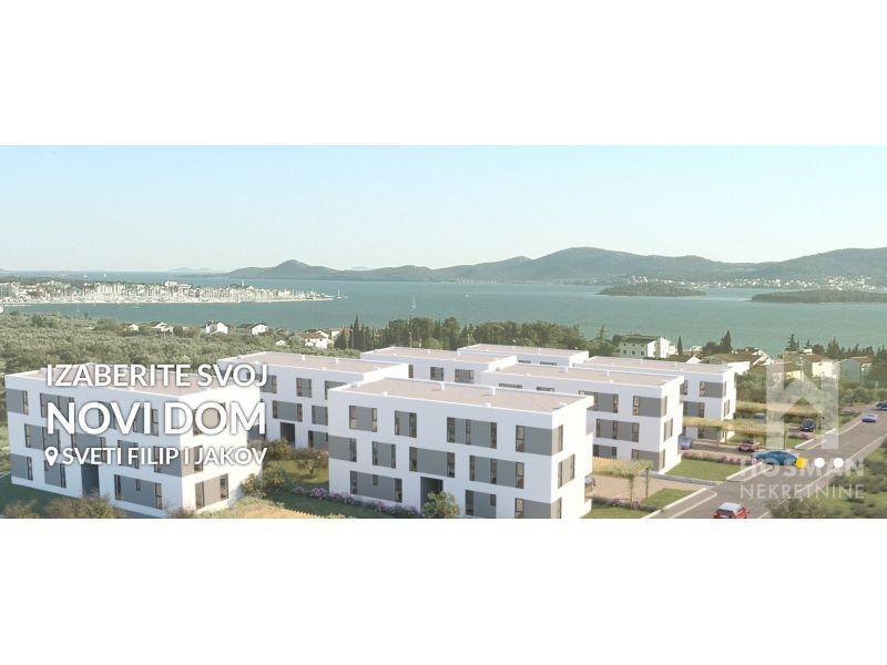 Novogradnja Sveti Filip i Jakov  stanovi s pogledom na more!!! (prodaja)
