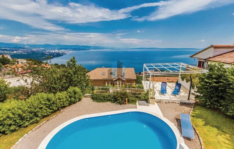 Opatija, okolica, samostojeća kuća s bazenom! (prodaja)