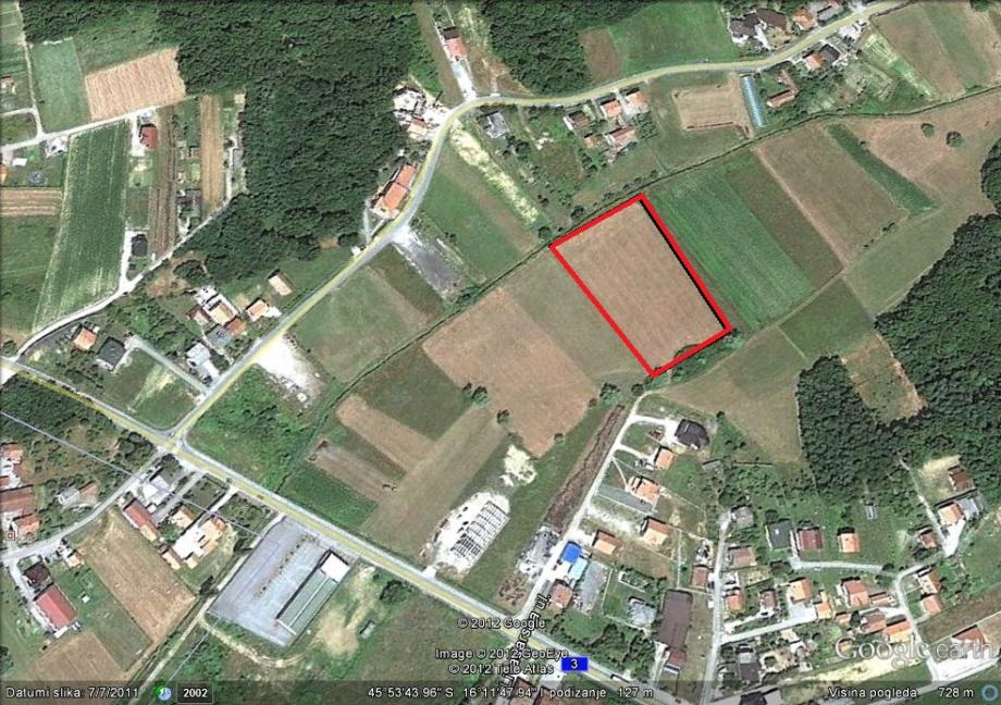 Poljoprivredno zemljište, Goričica, 10042 m2