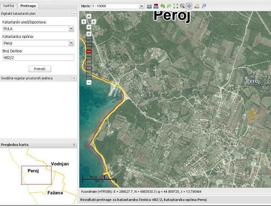 Poljoprivredno zemljište: Peroj, 2327 m2