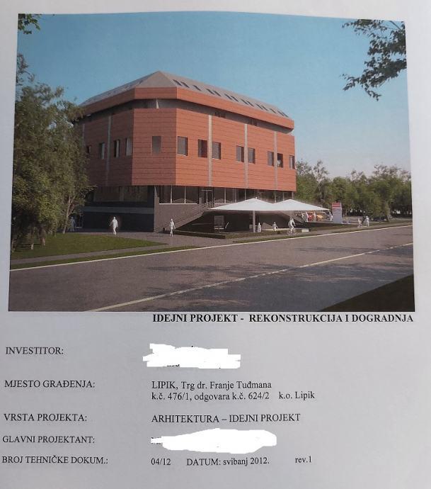 Poslovni prostor: Lipik, uslužna djelatnost, 3082 m2 (prodaja)