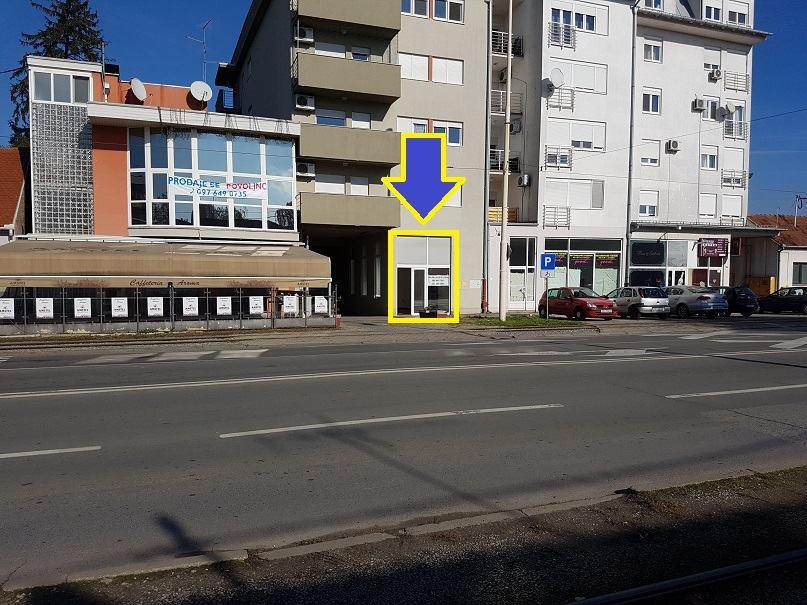 Poslovni prostor: Osijek, 38 m2 (prodaja)