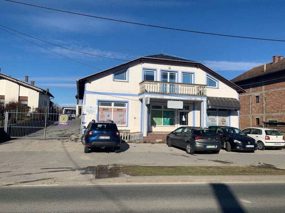 Poslovno skladišni prostor sa stambenim objektom Velike Sredice (prodaja)