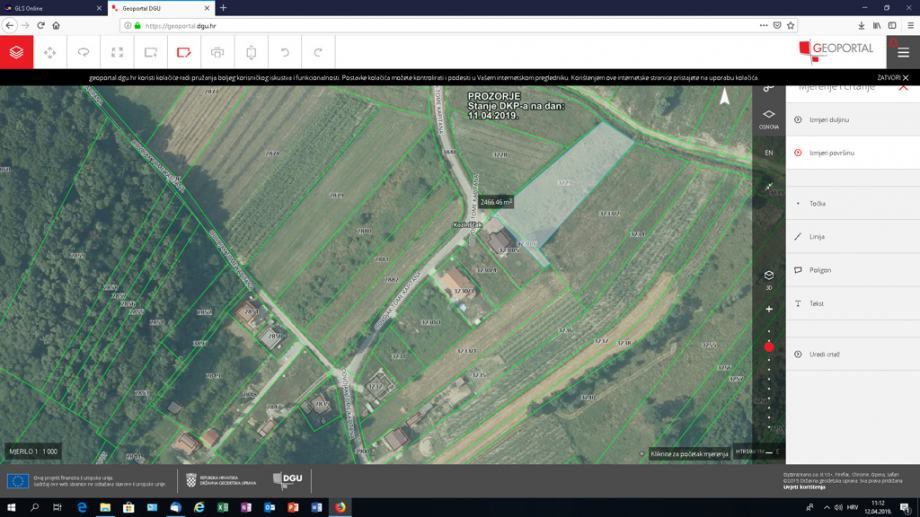 Prodajem građevinsko zemljište u Dugom Selu, ZG županija