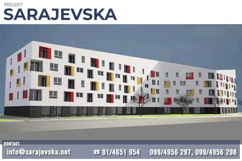 Projekt Sarajevska, Dugave, Novogradnja