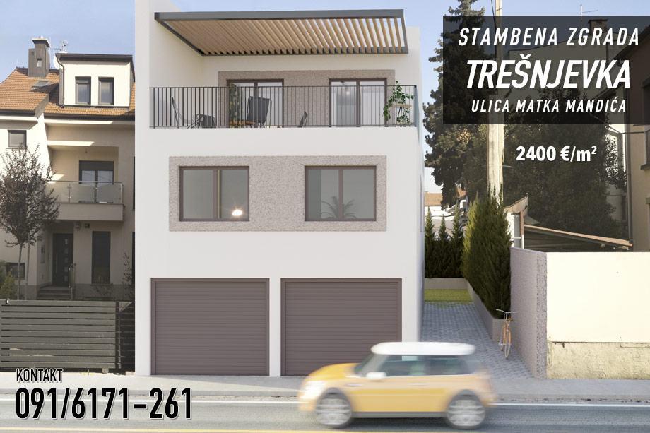 Stambena zgrada Trešnjevka – Ulica Matka Mandića