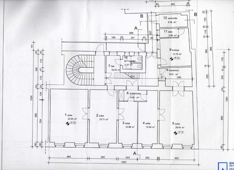 Stan: Ilica, (Centar), 6ss, 180 m2 (prodaja)