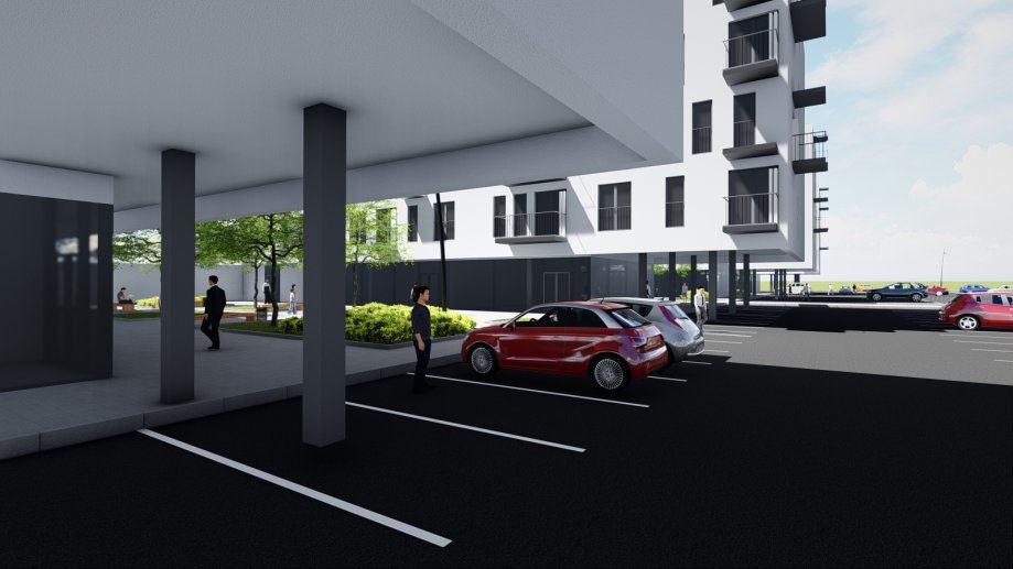 Stan: Pula, 51.82 m2, novogradnja, stan 48.69 + parkirno mjesto 3.13 (prodaja)