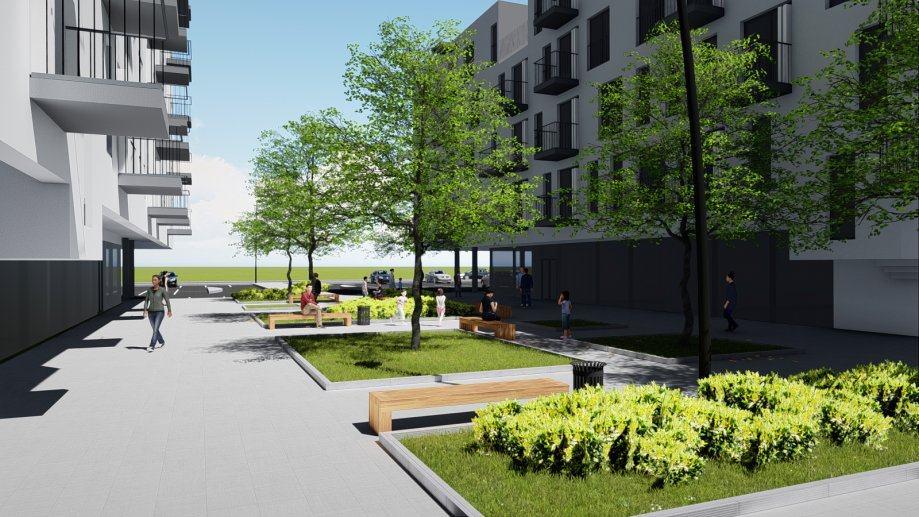 Stan: Pula, 79.89 m2, novogradnja, stan 76.76 + parkirno mjesto 3.13 (prodaja)