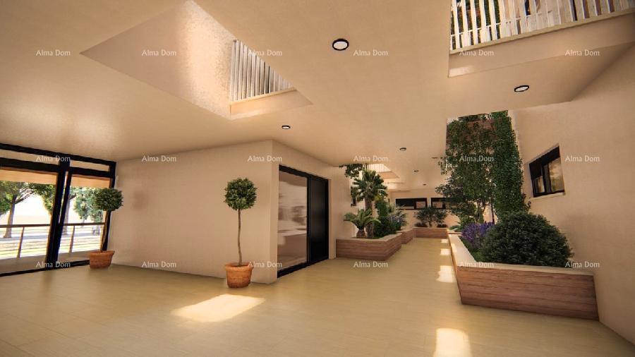 Stan Pula, Stoja, luksuzan Penthaus sa terasom od 140 m2! (prodaja)