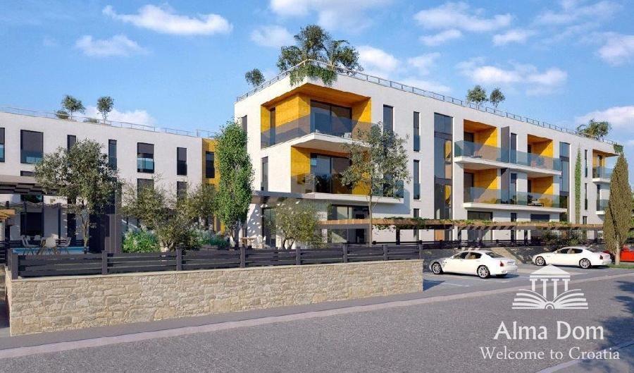 Stan Stan D3 u izgradnji - Rezidencijalni resort WHITE PEARL POREČ (prodaja)
