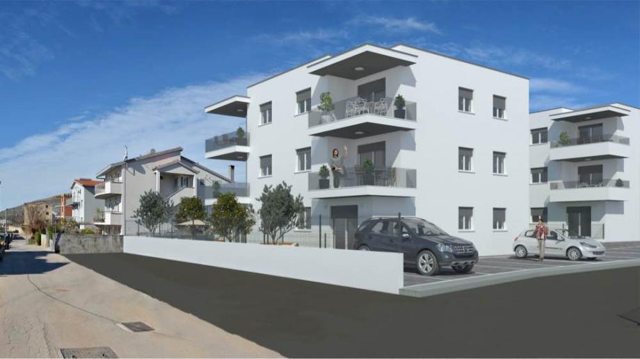 Stan: Trogir, 58,37 m2, novogradnja (prodaja)