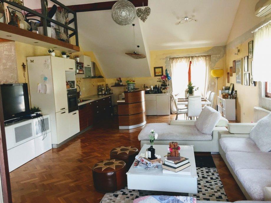 Maksimir, Gornji Bukovac, 4-sobni penthouse 183 m2 + 2 PP (prodaja)