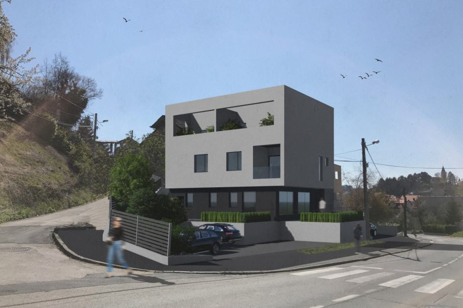 Stan: Zagreb (Gračani), dvoetažni 158.00 m2, novogradnja (prodaja)