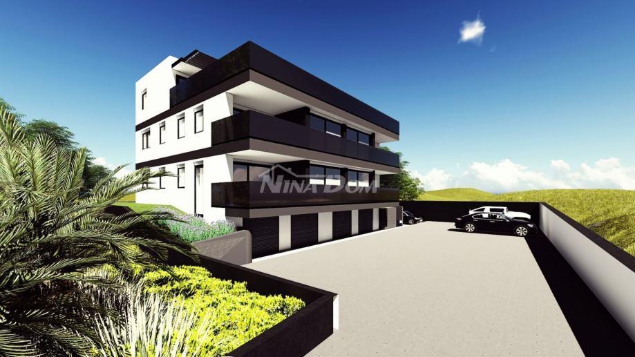 Trosoban luksuzni stan 95,42 m2 sa velikom terasom u Diklu. NOVOGRADNJ (prodaja)