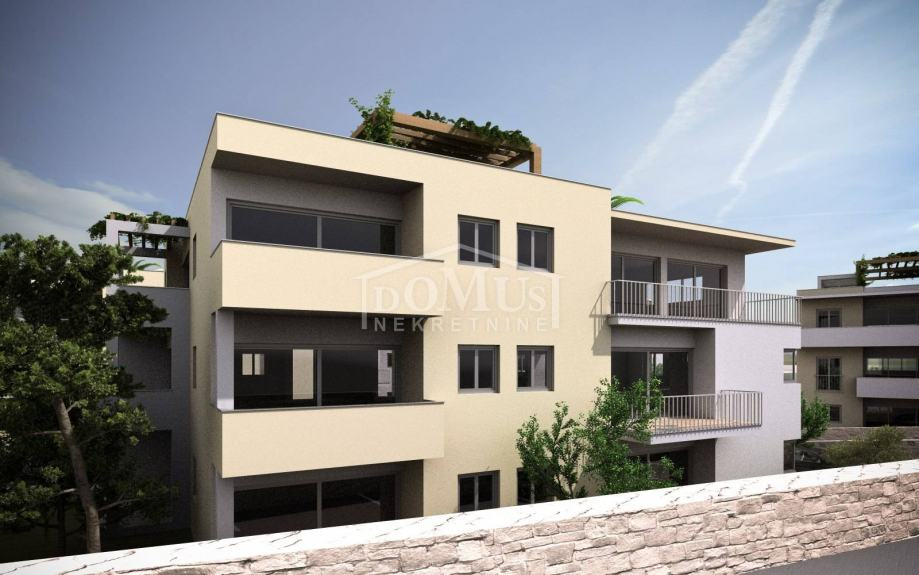 Vodice novogradnja blizu centra, dvosoban apartman 66,81m2 (prodaja)