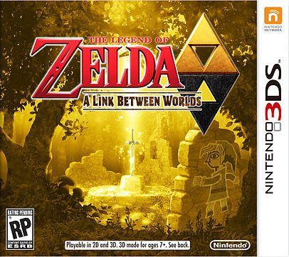 The Legend of Zelda: A Link Between Worlds NINTENDO 3DS