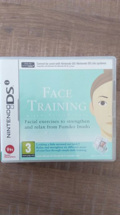 NINTENDO DS i Face Training