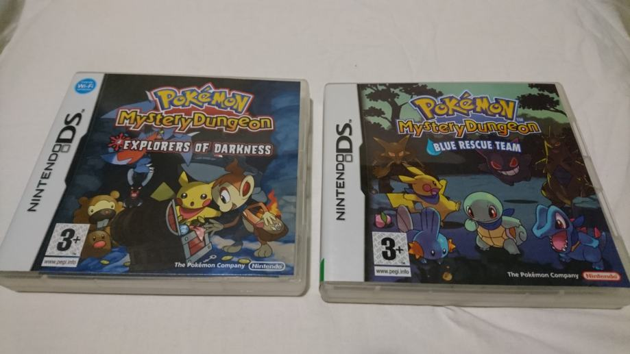 Pokemon Mystery Dungeon Nintendo DS