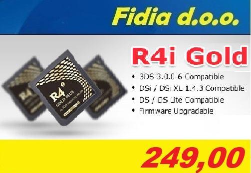 Nintendo 3DS / 2DS / DSi R4 Flashcard