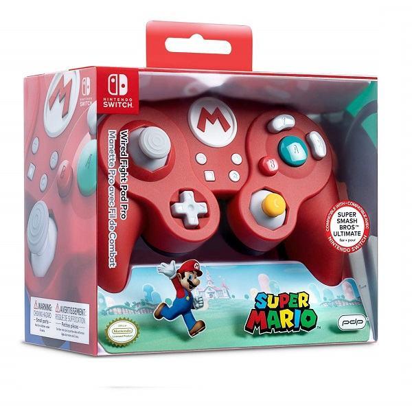 GameCube kontroler Pro Switch Mario Wired Fight,novo u trgovini,račun
