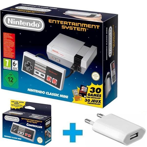 Nintendo Classic Mini(NES)+punjač+dod joj,novo u trgovini,račun,gar.1g