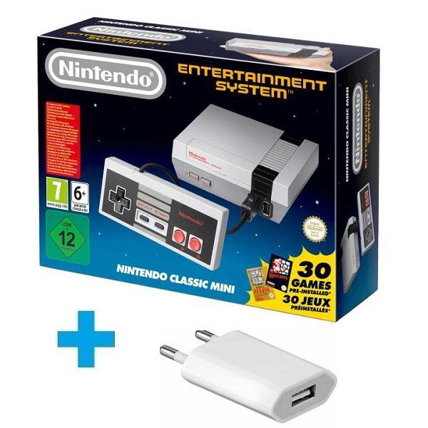 Nintendo Classic Mini:(NES)+punjač,novo u trgovini,račun,garancija 1 g