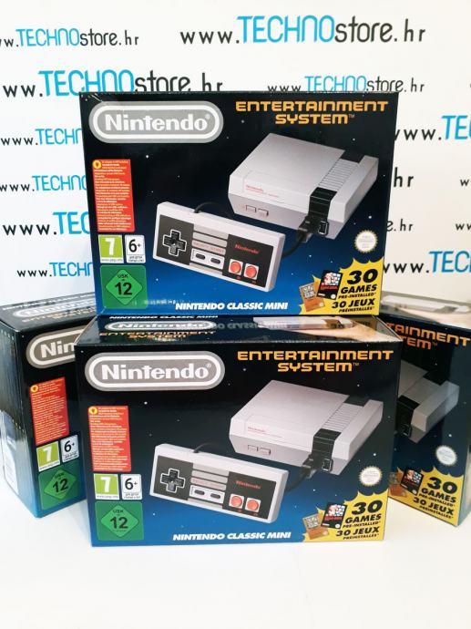 Zabavni sustav Nintendo Mini Classic sa 30 igrica (novo, zapakirano)