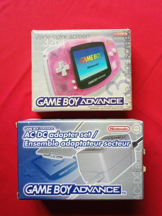 Nintendo Game Boy Advance (boxed) + punjač