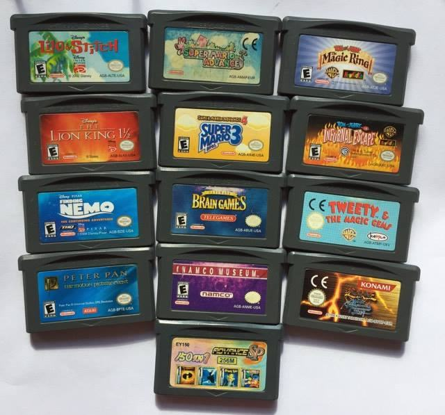 Nintendo Gameboy Advance igre -original