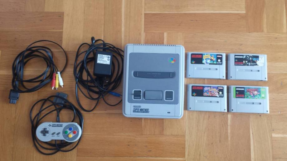 Nintendo SNES 5