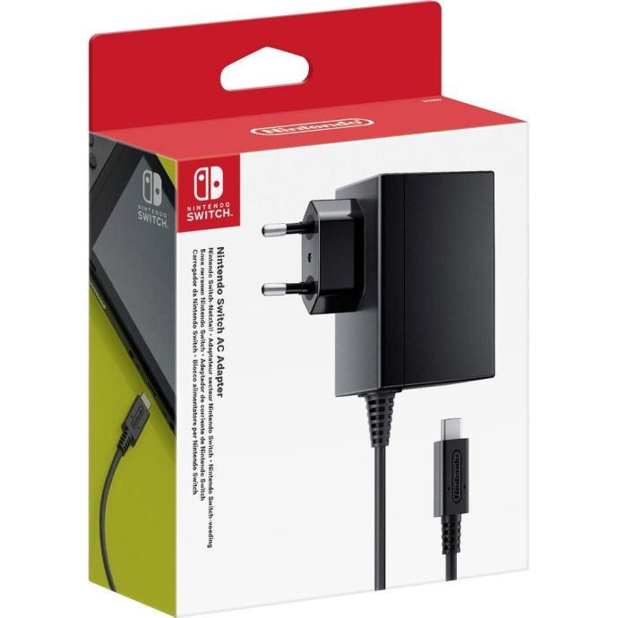 Nintendo Switch AC adapter ,račun,novo u trgovini,gar 1 godina