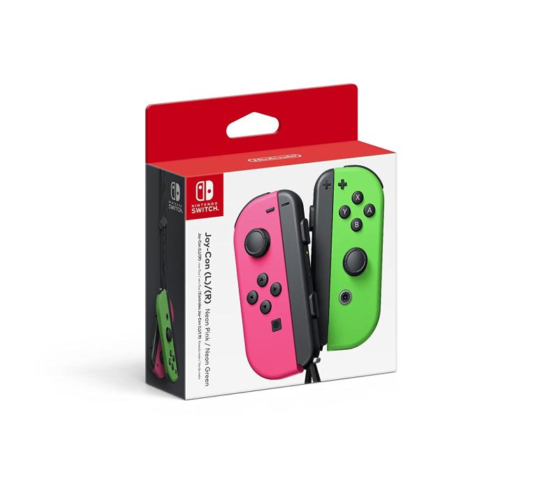 Nintendo Switch Joy-Con kontroleri (zeleni - rozi)