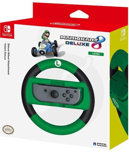 Nintendo Switch Joy-Con Mario Kart 8 Deluxe LUIGI,volan,TRGOVINA,NOVO!