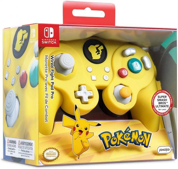 GameCube kontroler Pro Switch Pokemon Wired Fight  ,novo u trgovini