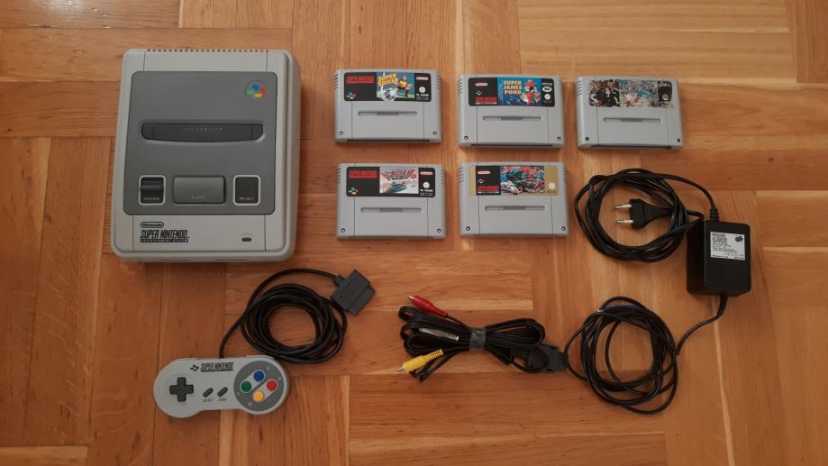 Super Nintendo SNES 1