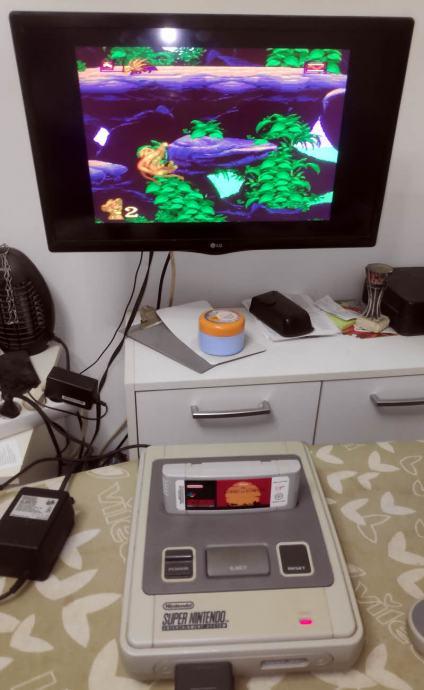 Super Nintendo SNES konzola + igre kompleti lotovi Nitendo Super Mario