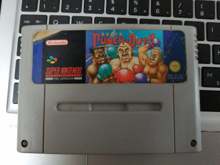 Super punch out Super Nintendo