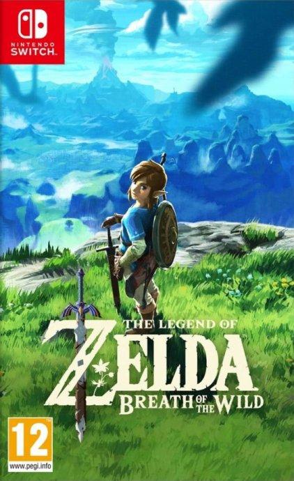 The Legend of Zelda:Breath of the Wild Nintendo Switch,novo u trgovini