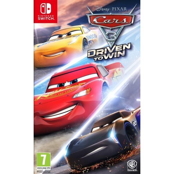 Cars 3: Driven to Win Nintendo Switch.novo u trgovini,račun