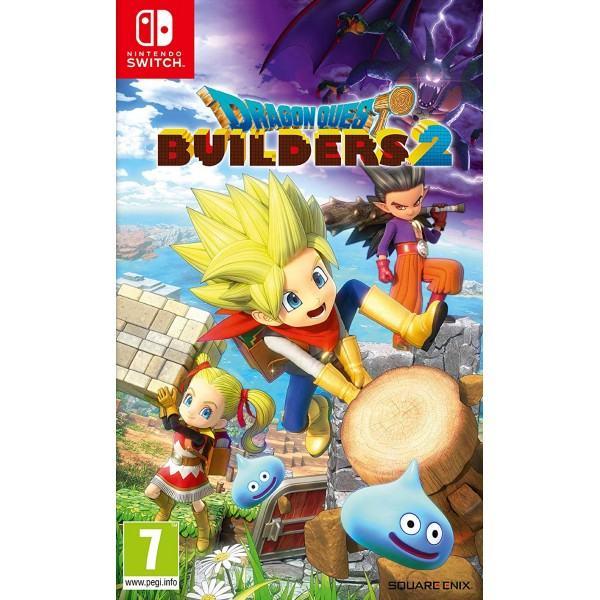 Dragon Quest Builders 2 Nintendo Switch igra,novo u trgovini,račun