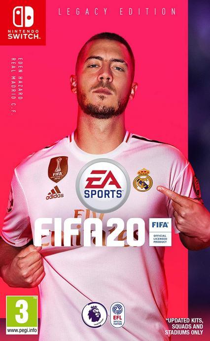 FIFA 20 Nintendo Switch igra,novo u trgovini,račun