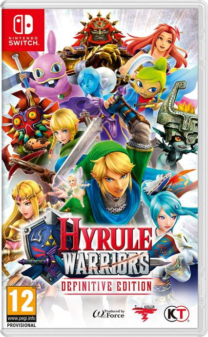 Hyrule Warriors: Definitive Edition - NS - Nintendo Switch