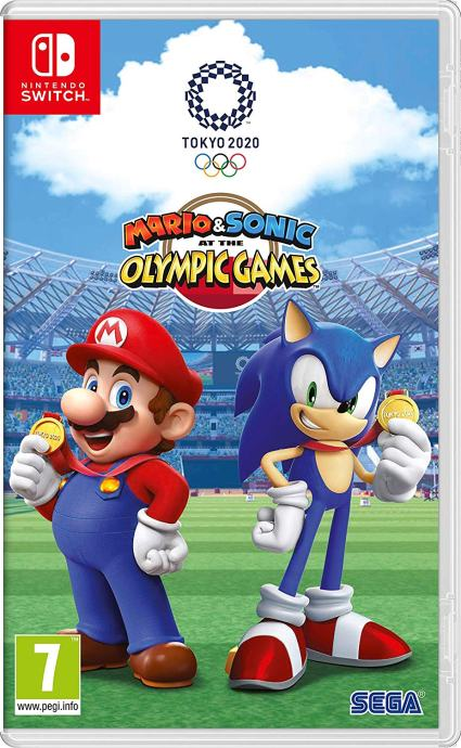Mario & Sonic At the Olimpic Games - Tokyo 2020 - Nintendo Switch