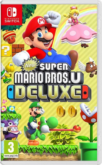 New Super Mario Bros U Deluxe - NS - Nintendo Switch