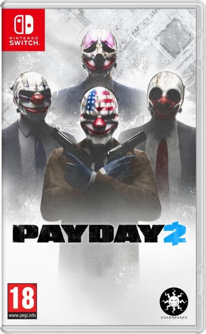 Payday 2 Nintendo Switch igra,novo u trgovini,račun