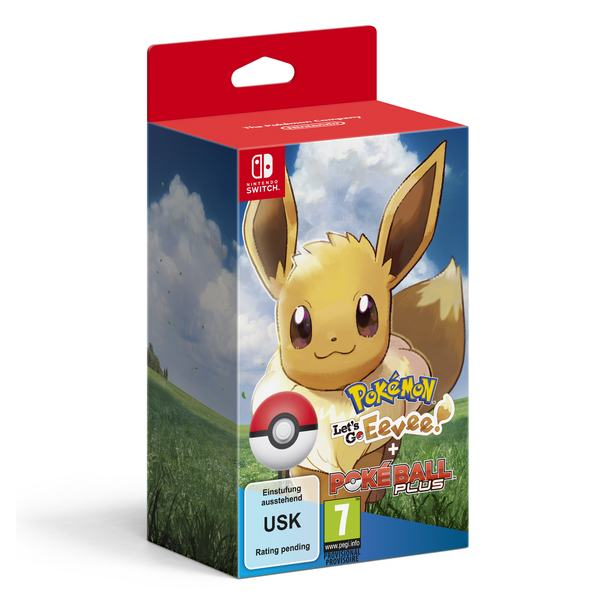 Pokemon: Let's Go! Eevee!+Poke Ball Limited Ed. N.Switch,novo,račun
