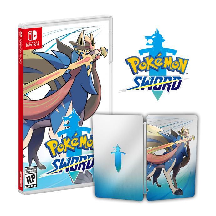 Pokemon Sword+Steelbook Switch,novo u trgovini,račun,dostupno!