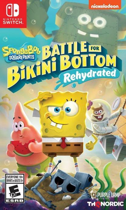 SpongeBob SquarePants Battle For Bikini Bottom Switch igra,novo,račun